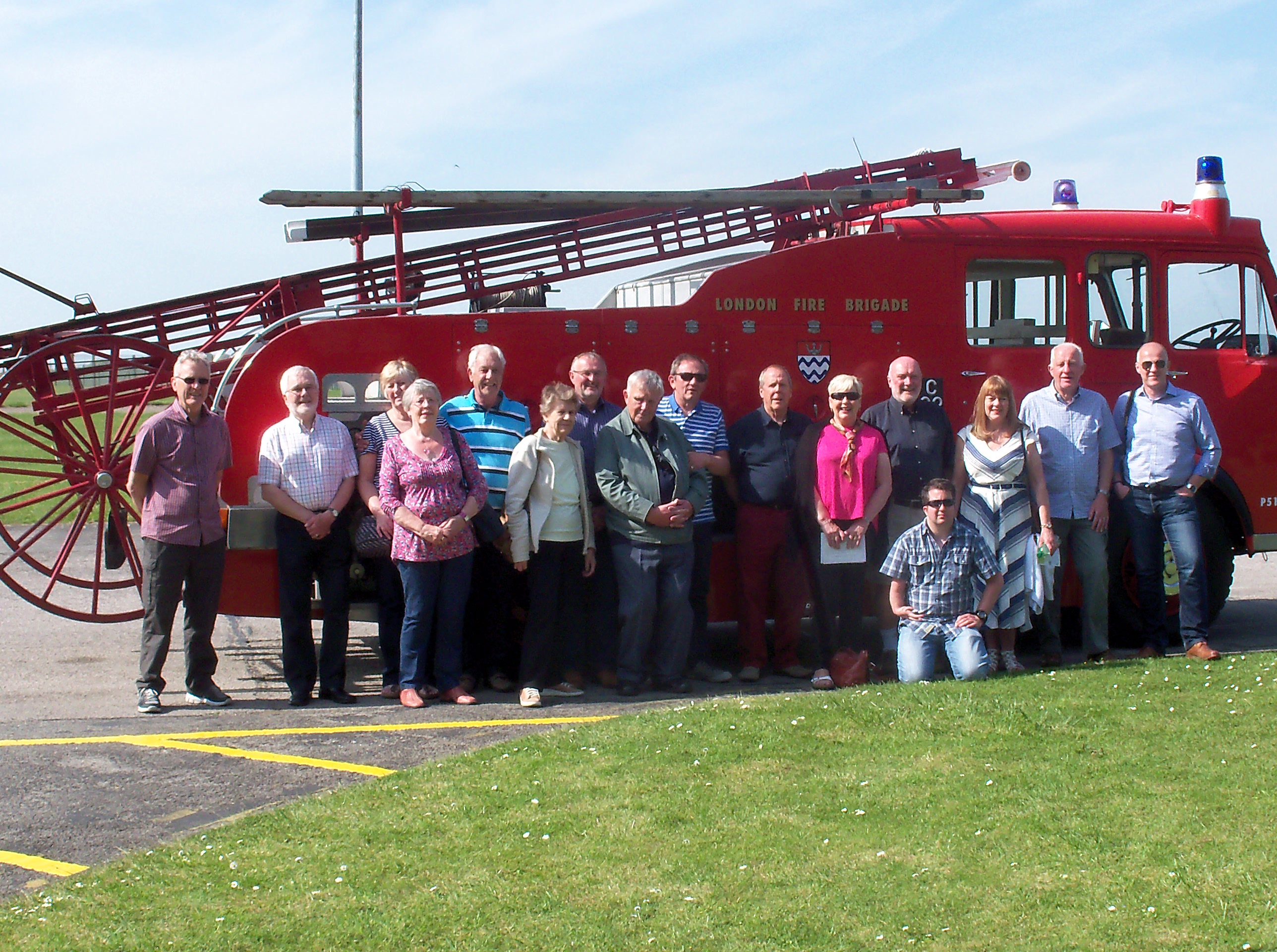 Retired Nottinghamshire Firefighters visit