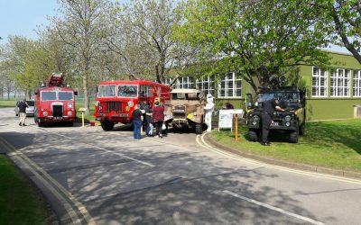 RAF Digby Vintage Vehicle Show 8th April 2017