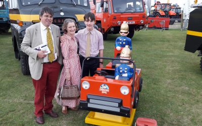 Lincs Show – daughter of Trumpton creator Gordon Murray visits us